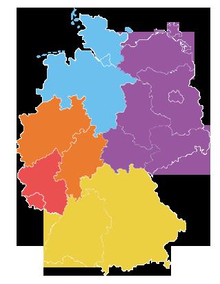 Karte Deutschland